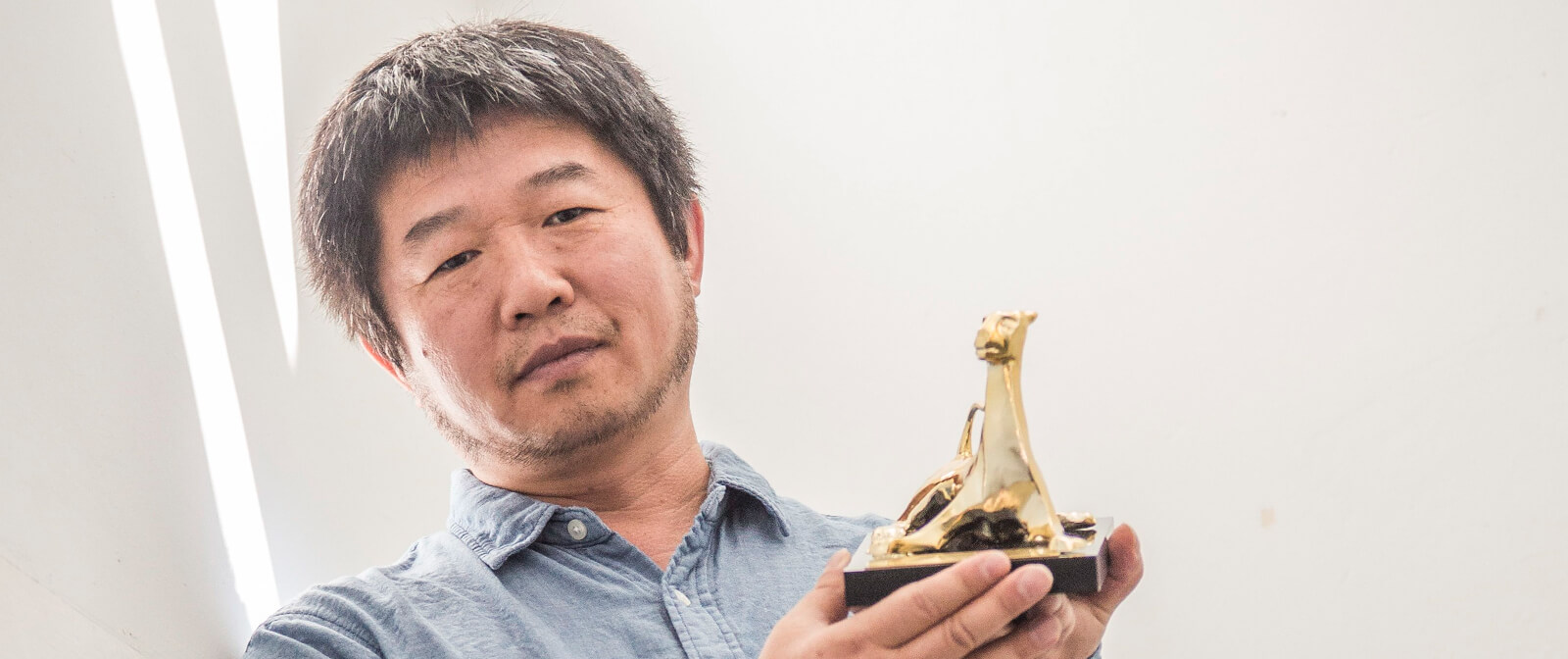 Wang Bing et son Leopard d'or