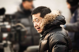 Jiang Wu sur le tournage de « A Touch of sin »